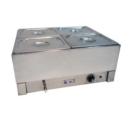 Bain marie 4 pot for Cuisson four bain marie
