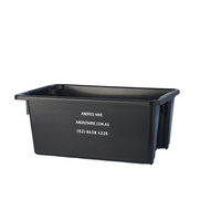 Drink tub Black 46lt