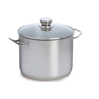 Cooking Pot 10Lts Stainless Steel with lid