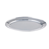"Platter Stainless Steel 24"" Oval"