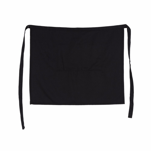 Apron Black Half Waiter