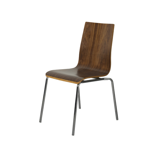 Walnut Euro Chair
