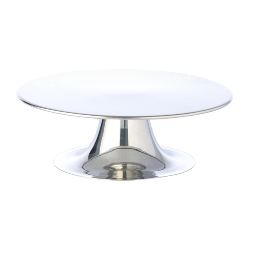 Silver Cake Stand Round