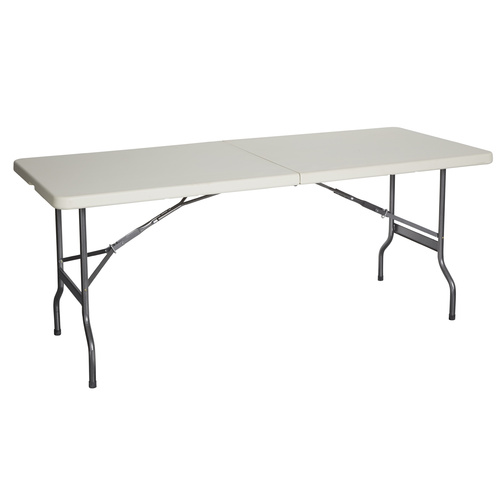 Bi Fold Flatfold table 1.8m x 0.75cm