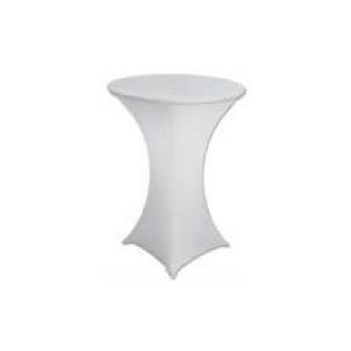 Lycra Bar Table Cover White